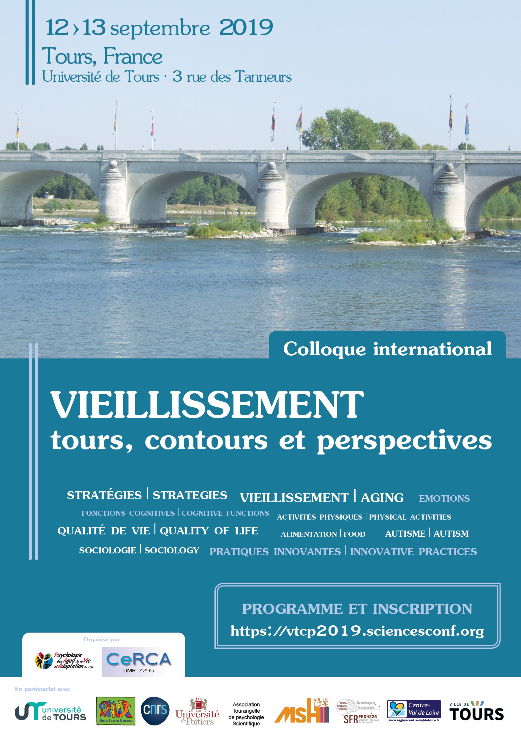 Colloque international « Vieillissement : tours, contours et perspectives »